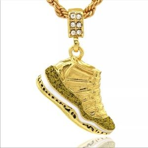 Other - New Hip Hop Gold Championship Shoe Charm Retro 11